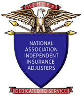 Member of National Association of Independent Insurance Adjusters